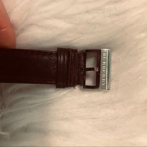 Burberry Accessories - Burberry Men's brown leather band watch